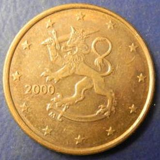 5 євроцентів 2000 Фінляндія