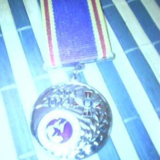 Медаль авиации 2004 2014 мастерство честь отвага украины.