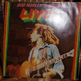 BOB MARLEY - LIVE! виниловая пластинка с плакатом!