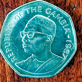 Монета Гамбии