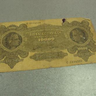 банкнота 1000 марок польша №68