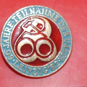 значок 60 лет ГДР