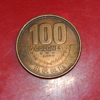 100 колонов 2006 г Коста Рика