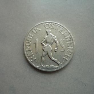 Австрия 1 шиллинг 1947