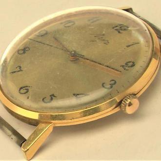 Часы Луч Au 10 позолота как новые от часоащика рабочие