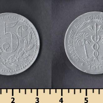 АЛЖИР 5 САНТИМОВ 1919