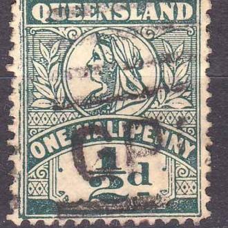GB  Колонии . Австралия - Queensland 1899   г -