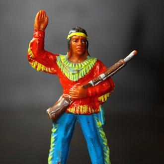 индейцы ковбои ГДР( №064) незаводская покраска