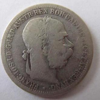 1 Крона 1894 г. Австрия Серебро