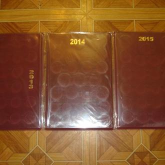 Планшети для ювілейних монет України на різні року випуску