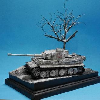 Масштабная модель танка Тигр(Диорама)