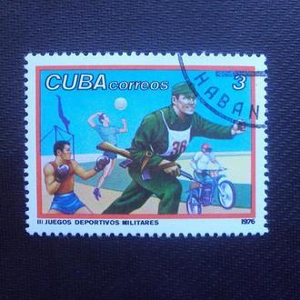 Куба 1976г.гаш.