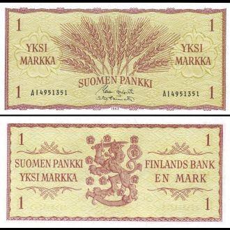 Finland / Финляндия - 1 Markkaa 1963  - Миралот