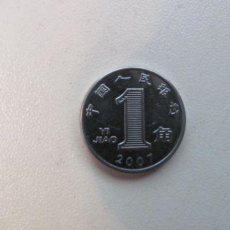 китай 1 дзяо 2007