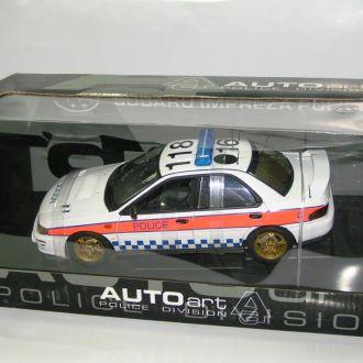 1/18 1999 Subaru Impreza Police Car (AUTOart)