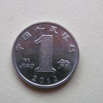 китай 1 дзяо 2012