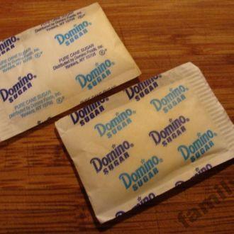 Пакетик  сахара   № 349