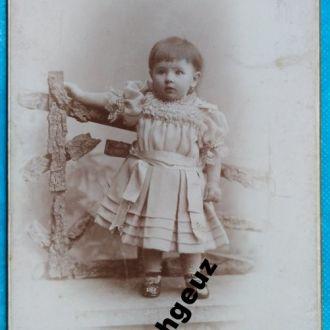 Модница. фото Туккер. Харьков. Кабинетка до 1917 г
