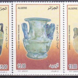 Алжир 2013 ИСКУССТВО СТЕКЛЯННЫЕ СОСУДЫ УРНЫ 3м**