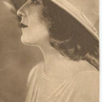 Открытка. Актеры немого кино - М.Пикфорд 1927 г.