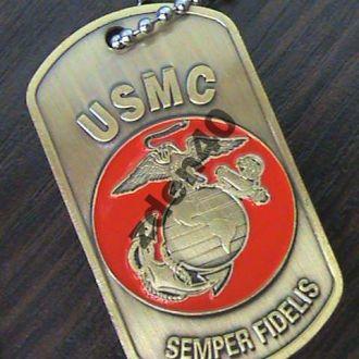 Жетон  морской пехоты армии США