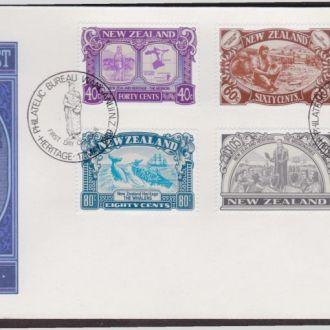 Новая Зеландия 1989 КИТОБОИ РЫБНАЯ ЛОВЛЯ РЫБАЛКА ЗОЛОТО ДОБЫЧА НАМЫВКА ИСКОПАЕМЫЕ Mi.1071-1076 EUR10