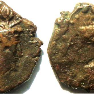 Кушаны/Сасаниды. Пероз I. 325-330 AD. AE драхма