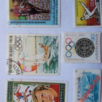 марки-Румыния и др- от 1гр 1962-(к9) Спорт-сборная