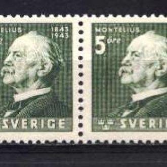 Швеция 1943 MNH