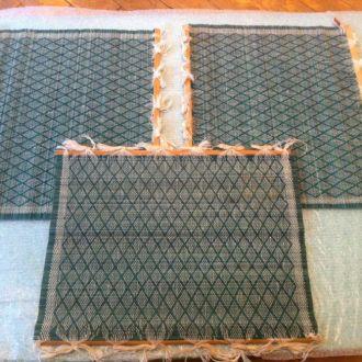 Бамбуковый советский коврик для суши и ролов 70гг.