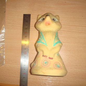 игрушка Лиса СССР 70-80гг.(резиновая)