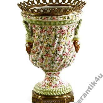 Фарфор бронза большая ваза 32 см !!!