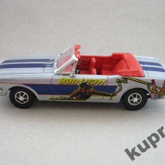 Ford Mustang Cabrio 1964 1/2 Bud 1:43 Matchbox