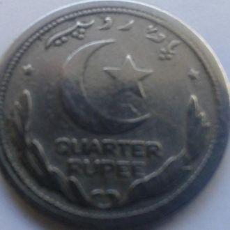 Пакистан 25 пайс 1948 года