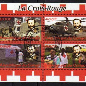 Конго История Красный Крест Анри Дюнан Женева Блок