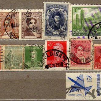 Аргентина Старые Раритет Редкие Личности История