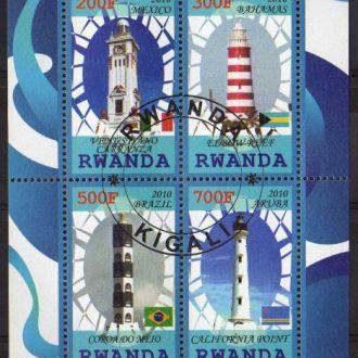 Руанда Архитектура Маяки Строения Блок Редкий
