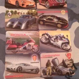 Календарики Транспорт Автомобили Мотоциклы Техника