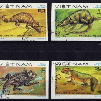 Вьетнам Фауна Земноводные Ящерицы Хамелеоны Редкие