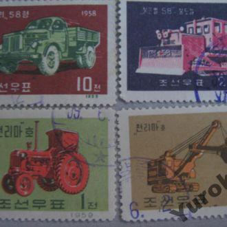 Корея Транспорт Трактора Спецтехника Очень Редкие
