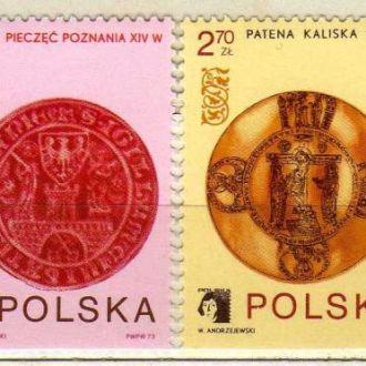 Польша Гербы Знаки Идолы