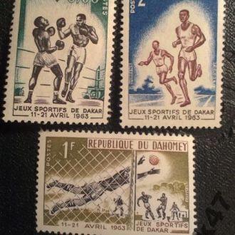 Дагомея Спорт Соревнования Футбол Игры Чистая