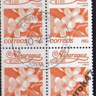 Никарагуа Флора Цветы Растения Квартблок