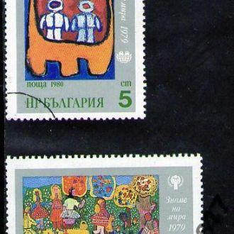 ISK 1980. Болгария. Детские рисунки!