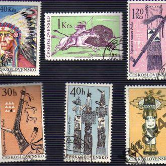 Чехословакия Индейцы Оружие Племена