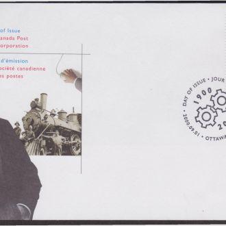 Канада 2000 ЖЕЛЕЗНАЯ ДОРОГА Ж-Д ТРАНСПОРТ ЛОКОМОТИВ ПОЕЗД СОСТАВ СООБЩЕНИЕ КПД Mi.1932