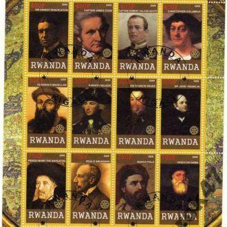 Руанда Личности Великие исследователи Персоналии