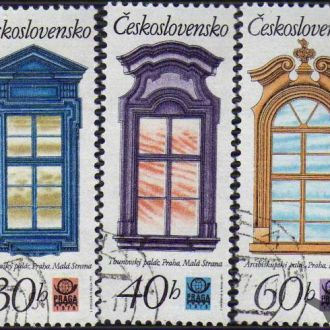 Чехословакия Архитектура Окна Рамы