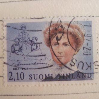 Финляндия Женский портрет  ГАШ