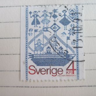 Швеция Орнамент корабли   ГАШ